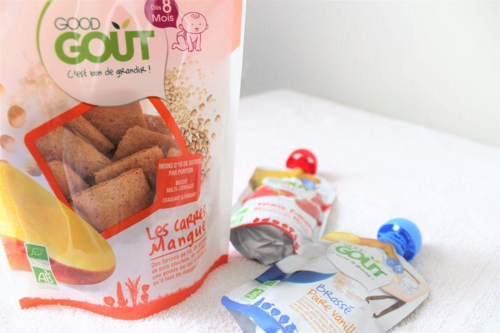 «Good Goût» : les goûters sains et savoureux pour bébé